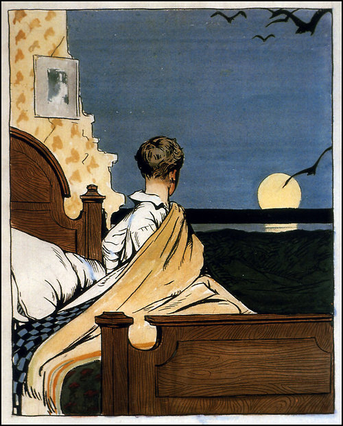 Hopper Boy and Moon